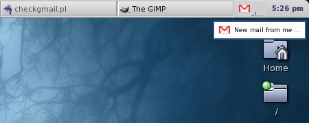 Alert nuova mail - Checkgmail